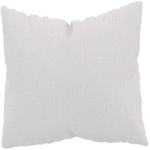 Kissen - Weiß, 50x50cm - Webstoff, individuell konfigurierbar