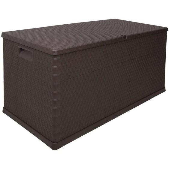 Kissenbox »Rattan«, 420 Liter, Kunststoff