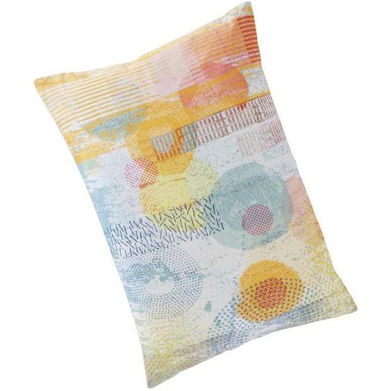 Kissenhülle Cosmos - Flieder/Gelb/Orange/Pink/Weiß/Türkis/Bunt/Mint - 100 % Baumwolle - Zierkissen & Polsterrollen  Zierkissen - Kissenbezüge