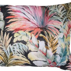 Kissenhülle »Tropical Diversity«, TOM TAILOR (1 Stück), mit abwechslungsreichem Blumendesign