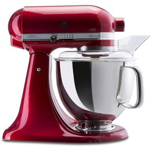 KitchenAid Küchenmaschine Artisan ,rot ,Metall