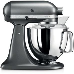 KitchenAid Küchenmaschine Artisan, Silber, Alu, Eisen, Stahl & Metall