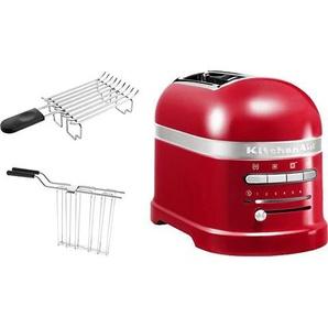 KitchenAid Toaster Artisan 5KMT2204EER, 2 kurze Schlitze, für Scheiben, 1250 W Einheitsgröße rot SOFORT LIEFERBARE Haushaltsgeräte