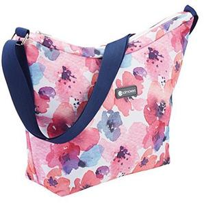 KitchenCraft Coolmovers Floral Cross Body Kühltasche, 5Liter (klein)–Mehrfarbig