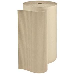 1 Rolle Wellpappe 1,0 x 70 m Polstermaterial 70 m² Rollenwellpappe - KK VERPACKUNGEN