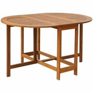 KlappbarerEsstisch aus Holz