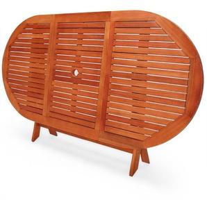 Klappbarer Esstisch Benita aus Holz