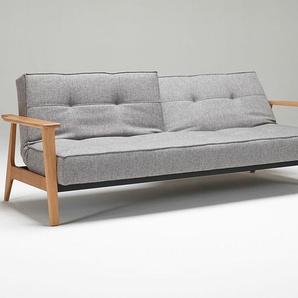 Klappsofa Splitback Frej Innovation Living grau, Designer Oliver Weiss Krogh, Per Weiss, 38x234x90 cm