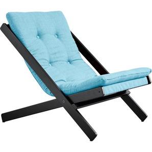 Klappstuhl Bezugsqualität 1, blau, FSC-Zertifikat, »Boogie«, , , FSC®-zertifiziert, Karup Design