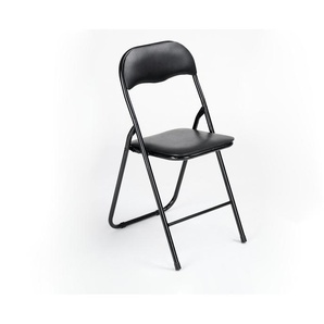 Klappstuhl | schwarz | 45 cm | 80 cm | 49 cm |