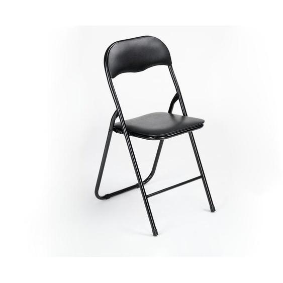 Klappstuhl | schwarz |