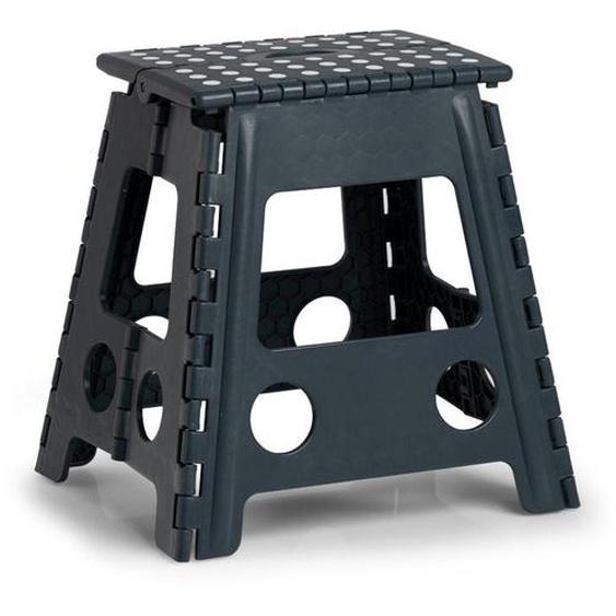 Klappstuhl, schwarz, Material Kunststoff, Zeller Present