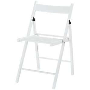 Klappstuhl   weiß   43 cm   78 cm   51 cm   Möbel Kraft