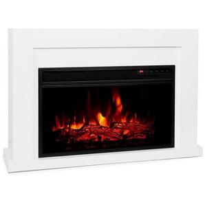 Klarstein Elektrischer Kamin 1000/2000W LED 10-30 °C Wochentimer »Blanca«