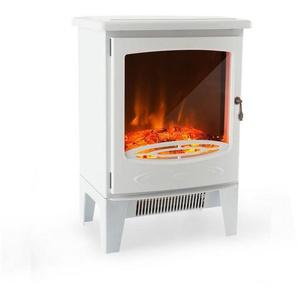 Klarstein Elektrischer Kamin 950/1850W InstaFire dimmbar weiß »Meran«