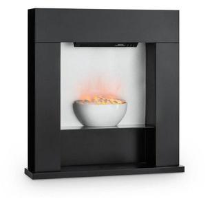 Klarstein Elektrischer Kamin LED-Flammen 2000W 40m² MDF »Studio-8«