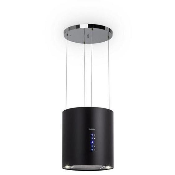 Klarstein Inselabzugshaube Ø35cm Umluft 560m³/h LED Aktivkohlefilter »Barett«