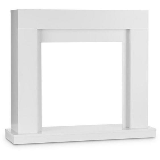 Klarstein Kamingehäuse MDF modernes Design weiß »Studio Frame«