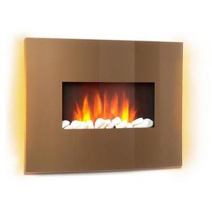 Klarstein L&F 1000/2000W Curved Glass Panel Fernbe »Curved Copper«