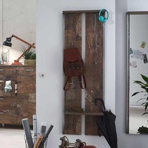 Kleiderpaneel in Holzpaletten Optik Industry Design