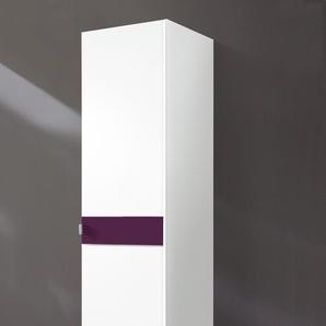 Kleiderschränke »Madrid«, lila, Breite 48 cm, Höhe 193cm,