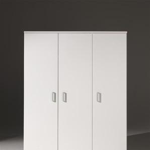 Kleiderschrank 3-trg. Milan, Weiß