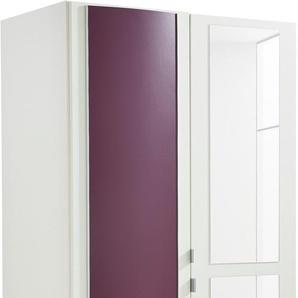 Kleiderschrank, T/H 54/193 cm, lila