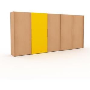 Kleiderschrank Buche - Individueller Designer-Kleiderschrank - 504 x 233 x 65 cm, Selbst Designen, Böden/Schublade Glasfront/drawer_small_fronts/Kleiderlift/Hosenhalter/Kleiderstange