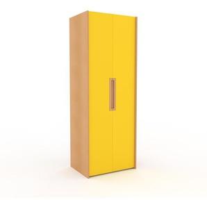 Kleiderschrank Buche - Individueller Designer-Kleiderschrank - 84 x 233 x 62 cm, Selbst Designen, nur bei