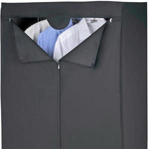 WENKO Kleiderschrank Maße »Deep Black«, schwarz, BxHxT, mit Reißverschluss, , , strapazierfähig