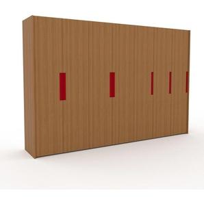 Kleiderschrank Eiche, Holz - Individueller Designer-Kleiderschrank - 354 x 233 x 62 cm, Selbst Designen, Böden/drawer_small_fronts/Kleiderlift