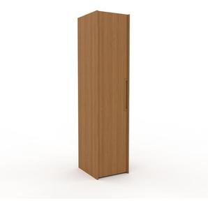 Kleiderschrank Eiche, Holz - Individueller Designer-Kleiderschrank - 54 x 233 x 62 cm, Selbst Designen, nur bei