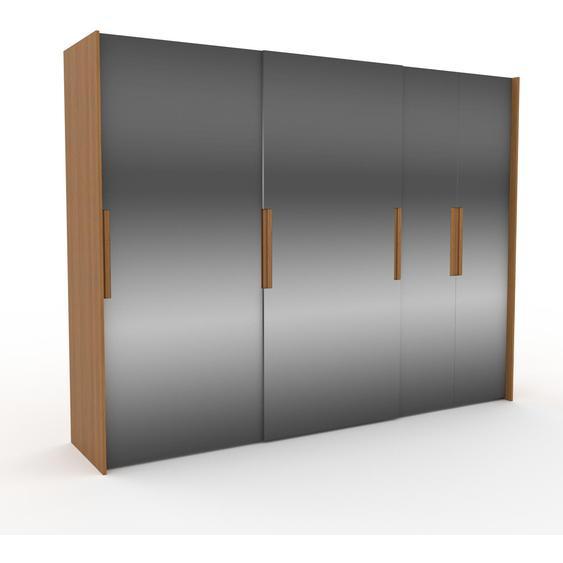 Kleiderschrank Eiche - Individueller Designer-Kleiderschrank - 304 x 233 x 65 cm, Selbst Designen, Böden/Kleiderstange