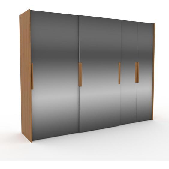 Kleiderschrank Eiche - Individueller Designer-Kleiderschrank - 304 x 233 x 65 cm, Selbst Designen, Kleiderstange