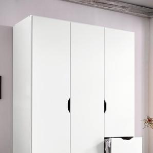 Rauch Kleiderschrank, 136 x 197 x 54 BxHxT cm, weiß »Freising«, mit Schubkästen