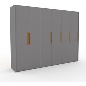 Kleiderschrank Grau - Individueller Designer-Kleiderschrank - 304 x 233 x 62 cm, Selbst Designen, nur bei