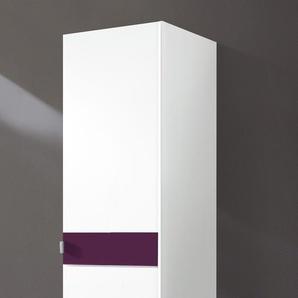 Kleiderschrank »Madrid«, Breite 48 cm, lila, Höhe 173 cm