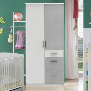 Kinder-Schrank, weiß, weitere Farben & Größen bei BETTEN.de