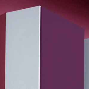 Kleiderschrank »Saragossa«, B/T/H 48/36/193 cm, Türanschlag links, lila