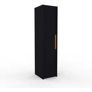 Kleiderschrank Schwarz - Individueller Designer-Kleiderschrank - 54 x 233 x 62 cm, Selbst Designen, nur bei