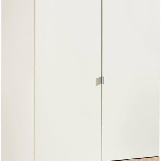 Kleiderschrank Steyr 94 x 193 54 (B H T) cm, 2-türig weiß Kinder Kinderschränke Kindermöbel Schränke