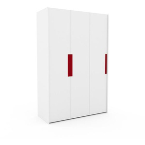 Kleiderschrank Weiß - Individueller Designer-Kleiderschrank - 154 x 233 x 62 cm, Selbst Designen, Böden