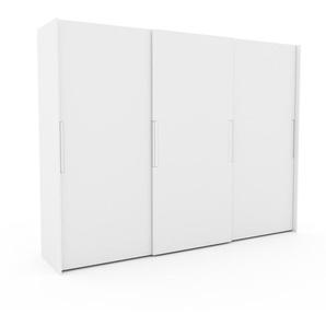 Kleiderschrank Weiß - Individueller Designer-Kleiderschrank - 304 x 233 x 65 cm, Selbst Designen, Kleiderstange