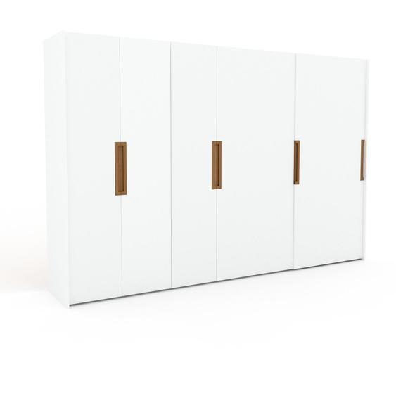 Kleiderschrank Weiß - Individueller Designer-Kleiderschrank - 354 x 233 x 65 cm, Selbst Designen, Böden/drawer_small_fronts/Kleiderlift/Kleiderstange