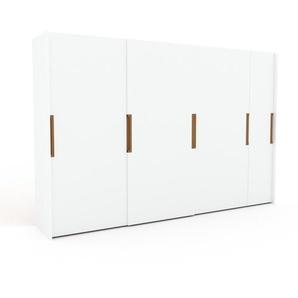 Kleiderschrank Weiß - Individueller Designer-Kleiderschrank - 354 x 233 x 65 cm, Selbst Designen, Kleiderstange/hohe Schublade