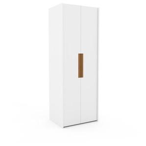 Kleiderschrank Weiß - Individueller Designer-Kleiderschrank - 84 x 233 x 62 cm, Selbst Designen, nur bei