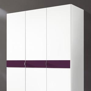 Kleiderschrank , lila, Breite 140 cm, Höhe 193cm, »Madrid«,