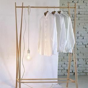 Kleiderständer Tra-Ra Zilio A&C braun, Designer Shin, Tomoko Azumi, 162x103x48 cm