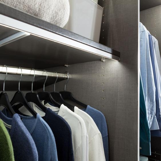 Kleiderstange Skøp Silber 88x3x2 cm (BxHxT) Aluminium Modern