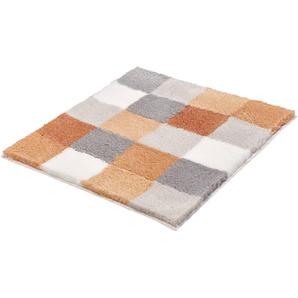 Kleine Wolke Badteppich, Orange, Polyacryl 55 x 65 cm